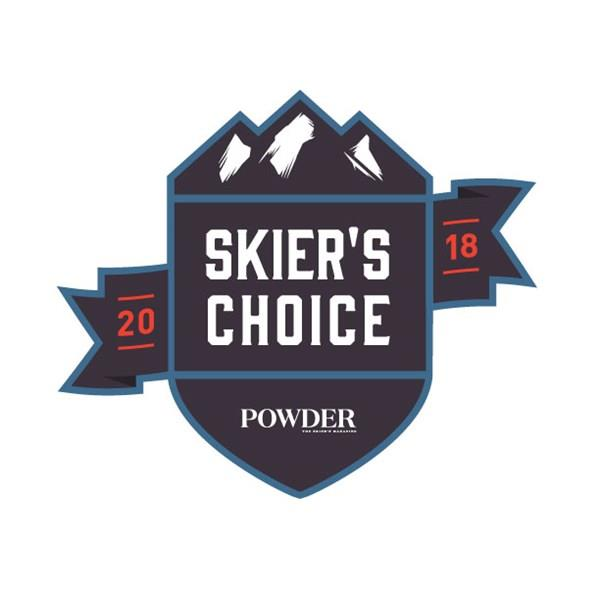 Powder Magazine – Skier's Choice 2018