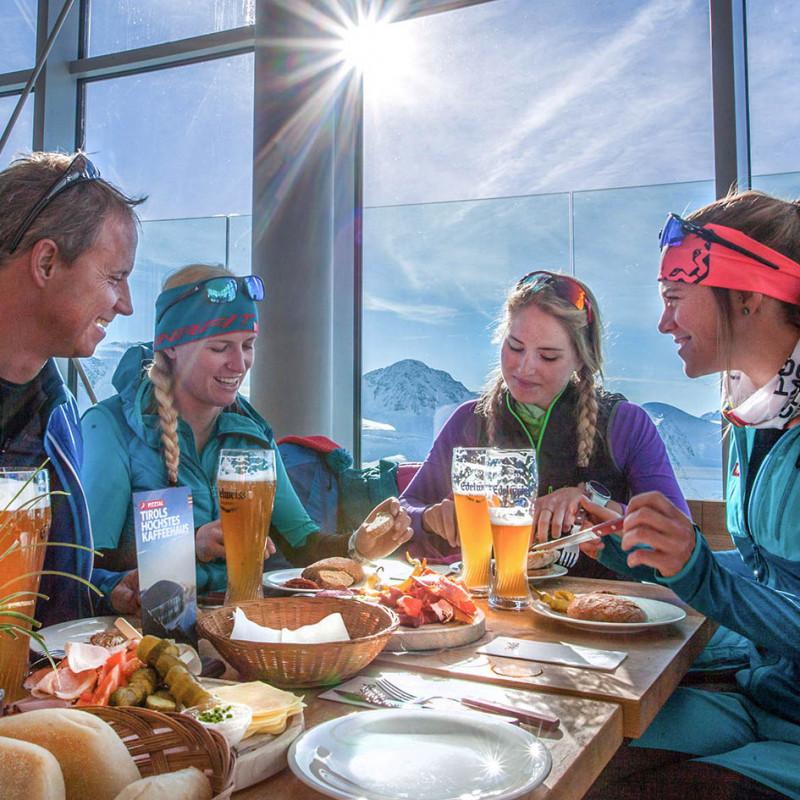 Dynafit Skitourenpark Pitztal - Brotzeit