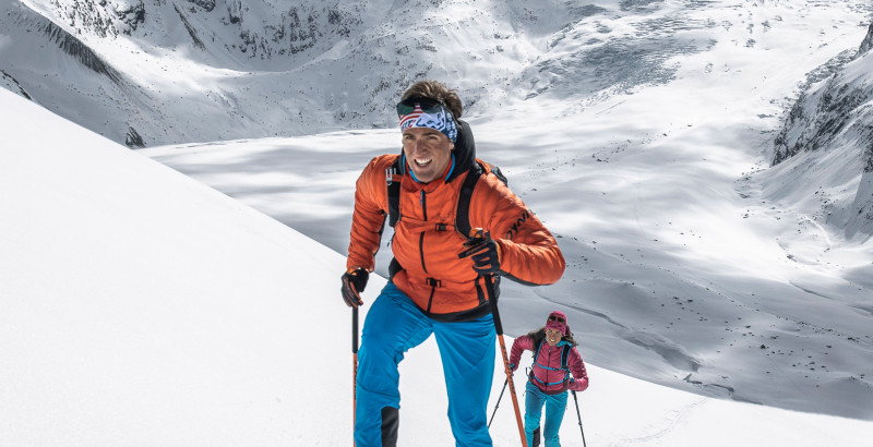 Insulating jacket women's for cold days ski touring | Dynafit