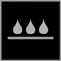 Water-resistant down