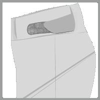 Cintura ajustable